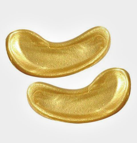 Gouden eyepads voor wimper verven