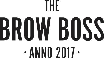 Logo voor The Brow Boss